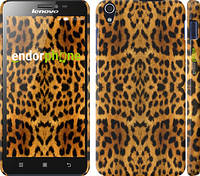 "Чехол на Lenovo S850 Шкура леопарда v2 ""1075c-78"""