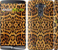 "Чехол на LG G3 dual D856 Шкура леопарда v2 ""1075c-56"""
