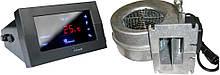 Блок управління KG ELEKTRONIK CS-19 + вентилятор WPA-120 для твердопаливних котлів