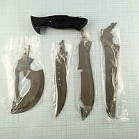Туристический набор Х-4 Топорик,ножи,пила,удобная рукоять,чехол, фото 1