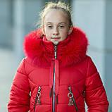 """Практичная водонепроницаемая зимняя куртка для девочки """"Долли"""", фото 6"""