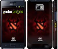 "Чехол на Samsung Galaxy S2 i9100 DOTA 2 Shadow Fiend ""2767c-14"""
