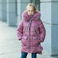 """Практичная водонепроницаемая зимняя куртка для девочки """"Долли"""", фото 1"""