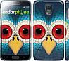 "Чехол на Samsung Galaxy S5 Duos SM G900FD Сова ""1068c-62"""