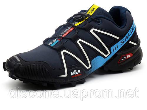 Кроссовки мужские Salomon Speedcross 3, PU кожа