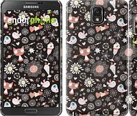 """Чехол на Samsung Galaxy Note 3 N9000 Котята и птички """"1222c-29"""""""