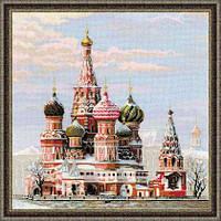 """Набор для вышивания """"Москва. Собор Василия Блаженного"""""""