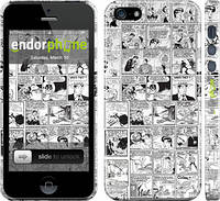 """Чехол на iPhone 5 Комикс """"1229c-18"""""""
