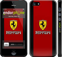 "Чехол на iPhone 5s Ferrari ""1202c-21"""