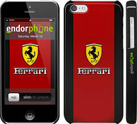 "Чехол на iPhone 5c Ferrari ""1202c-23"""