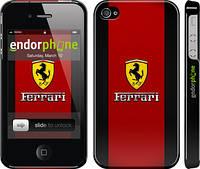 """Чехол на iPhone 4s Ferrari """"1202c-12"""""""