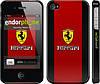 """Чехол на iPhone 4 Ferrari """"1202c-15"""""""