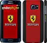 "Чехол на Samsung Galaxy S6 G920 Ferrari ""1202c-80"""