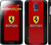 """Чехол на Samsung Galaxy S5 g900h Ferrari """"1202c-24"""""""