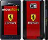 "Чехол на Samsung Galaxy S2 Plus i9105 Ferrari ""1202c-71"""