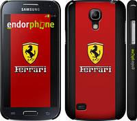 "Чехол на Samsung Galaxy S4 mini Ferrari ""1202c-32"""