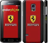 """Чехол на Samsung Galaxy S5 mini G800H Ferrari """"1202c-44"""""""