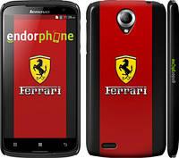 """Чехол на Lenovo S820 Ferrari """"1202c-52"""""""
