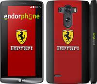 """Чехол на LG G3 D855 Ferrari """"1202c-47"""""""