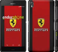 "Чехол на Sony Xperia Z3 D6603 Ferrari ""1202c-58"""