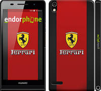 "Чехол на Huawei Ascend P6 Ferrari ""1202c-39"""