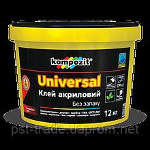 Клей акриловый Kompozit Universal ,12 кг.