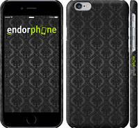 """Чехол на iPhone 6 черный узор барокко """"1614c-45"""""""