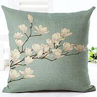 Наволочка на декоративную подушку (диванная подушка 45см х 45см + 50 грн) 11540п