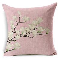 Наволочка на декоративную подушку (диванная подушка 45см х 45см + 50 грн) 11557п