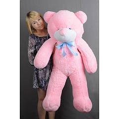 """Плюшевый медведь """"Нестор"""" Розовый 120 см"""