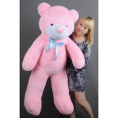 """Плюшевый медведь """"Нестор"""" Розовый 140 см"""