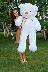 """Плюшевый медведь """"Нестор"""" Белый 160 см"""