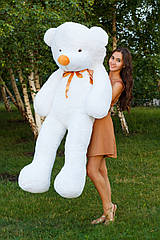 """Плюшевый медведь """"Нестор"""" Белый 180 см"""