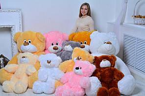 """Плюшевый медведь """"Украина"""" Белый 75 см"""