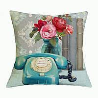 Наволочка на декоративную подушку (диванная подушка 45см х 45см + 50 грн) 11582п