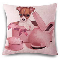 Наволочка на декоративну подушку (диванна подушка 45см х 45см + 50 грн) 115102п, фото 1