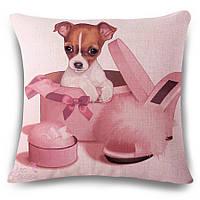 Наволочка на декоративную подушку (диванная подушка 45см х 45см + 50 грн) 115102п