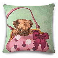 Наволочка на декоративную подушку (диванная подушка 45см х 45см + 50 грн) 115121п