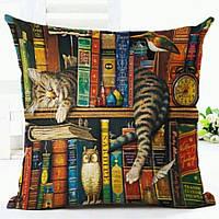 Наволочка на декоративную подушку (диванная подушка 45см х 45см + 50 грн) 11590п, фото 1