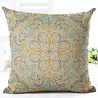 Наволочка на декоративную подушку (диванная подушка 45см х 45см + 50 грн) 11539п