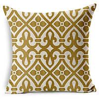 Наволочка на декоративную подушку (диванная подушка 45см х 45см + 50 грн) 11544п