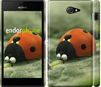 "Чехол на Sony Xperia M2 dual D2302 Букашки. Приключение в Долине муравьев v2 ""2609c-61"""