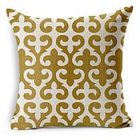Наволочка на декоративную подушку (диванная подушка 45см х 45см + 50 грн) 11531п