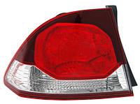 Фонарь задний для Honda Civic 4d седан '09-12 правый (DEPO) внешний