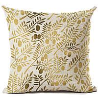 Наволочка на декоративную подушку (диванная подушка 45см х 45см + 50 грн) 11586п-а