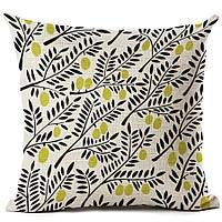 Наволочка на декоративную подушку (диванная подушка 45см х 45см + 50 грн) 11586п-б