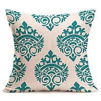 Наволочка на декоративную подушку (диванная подушка 45см х 45см + 50 грн) 11592п