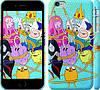 """Чехол на iPhone 6 Plus Adventure time. Heroes. Принцесса Пупырка """"1212c-48"""""""