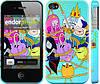 """Чехол на iPhone 4s Adventure time. Heroes. Принцесса Пупырка """"1212c-12"""""""