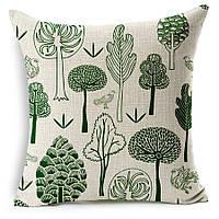 Наволочка на декоративную подушку (диванная подушка 45см х 45см + 50 грн) 11529п